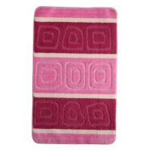 "Коврик для ванной ""BANYOLIN SILVER"" 60х100см (11 мм) розовый"