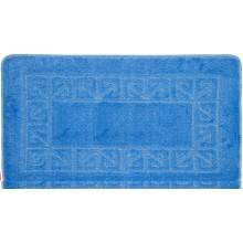 "Коврик для ванной ""BANYOLIN"" 55х90см (11 мм) голубой"