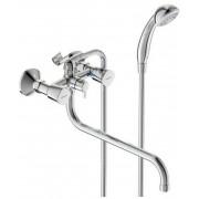 Смеситель VIDIMA QUADRO (арт.BA346AA) для ванны, дл.S излив 320мм, кер. дивертор