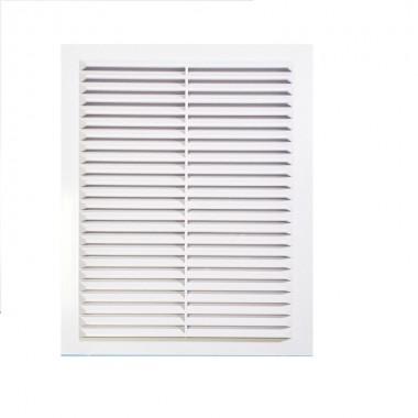 Решетка вентиляционная вытяжная 110*220 белая серия В