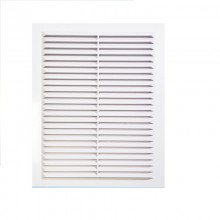 Решетка вентиляционная вытяжная 130*190, материал ABS-пластик белая. Серия В