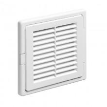 Люк решетка вентиляционная 150*150, материал ABS-пластик белый. Серия ЛР