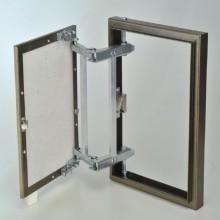 Люк металлический скрытый с регулируемой петлёй 500х1000