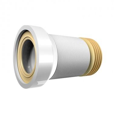 Отвод ВИР-ПЛАСТ д/унит.АРМИРОВАННЫЙ гофрированный L-290-640,d=105 мм (70984967)