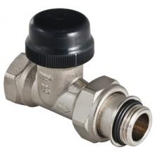 """Клапан термостатический для радиатора прямой с преднастройкой 1/2"""" (VT.038.N.04)"""
