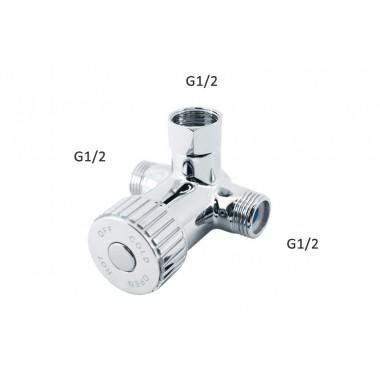 Смесительный клапан (6990320/5990320) для смешивания хол/гор.воды,уст.под раков.