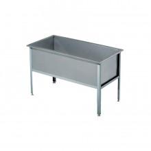 Ванна моечная ВМ-1/530/1210 АЛЕНТА, 1 секция (AISI430)