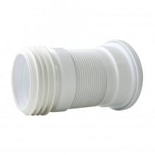 Отвод гофрированный АРМИРОВАННЫЙ, укороченный L=200-450 мм, d=110 (70984968)