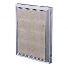 Люк алюминиевый скрытый с регулируемой петлёй 400х700