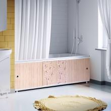 """Экран под ванну 1,5 м """"Оптима Decor"""" (038 сакура)"""
