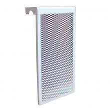 Экран для чугунного радиатора белый (3 сек)