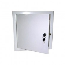 Люк-дверца ревизионная металлическая с замком 100х100