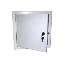Люк-дверца ревизионная металлическая с замком 100х300