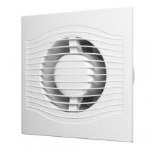 Вентилятор осевой вытяжной малошумная серия D 100 SLIM 4C с обратным клапаном