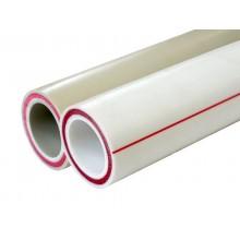 Труба PN 20 SDR 7.4 Optimum PN 20 белая (армир. стекл.) 110х15,1 мм