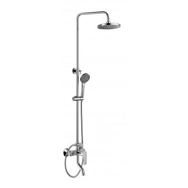Душевая система ZOLLEN BERGEN (арт.BE31613241) пов.излив,верх и ручной душ