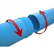 Труба обсадная для скважин ПВХ 125х5,0х2000 (синий цвет)