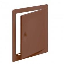 Люк-дверца ревизионный пластиковый 100 х 150 коричневый (Виенто)