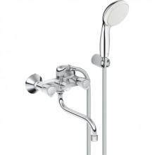 Смеситель GROHE COSTA S (арт.2679210A) для ванны, излив 300 мм, с аксессуарами