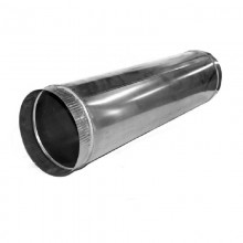 Воздуховод сталь оцинк. Д -120 L - 500 мм