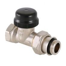 """Клапан термостатический для радиатора угловой с преднастройкой 3/4"""" VT.037.N.05"""