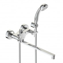 Смеситель VIDIMA ART (арт.BA330AA) для ванны, пл.изл.320 мм,метал.мах.без аксес.