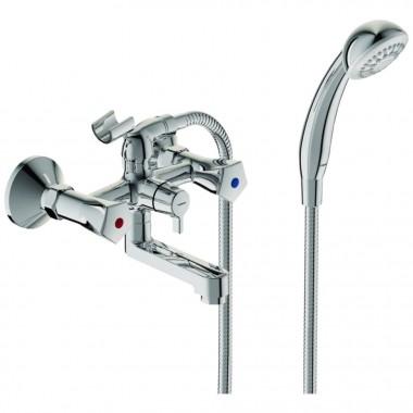 Смеситель VIDIMA LIFE (арт.BA361AA) для ванны, литой пов. излив, 160мм