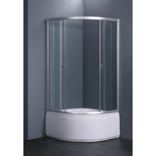 Душевое ограждение UMBRIA UDR-090М (стекло-матовое)