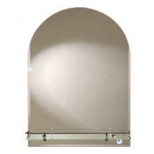 Зеркало Арка с полочкой 50х60