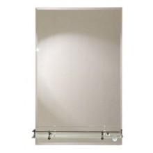 Зеркало Прямоугольник с полочкой 40х60