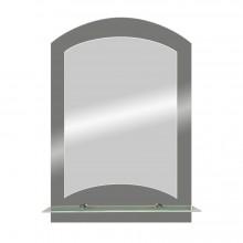 Зеркало Арго с полочкой 40х58,5