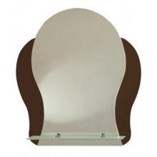 Зеркало Айва с полочкой 45х55