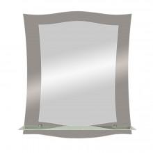 Зеркало Авантаж с полочкой 51х61