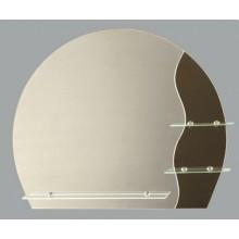 Зеркало Оазис с полочкой 75х63