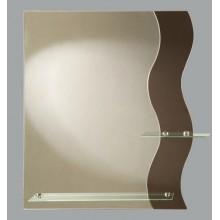 Зеркало Вегас с полочкой 59х69