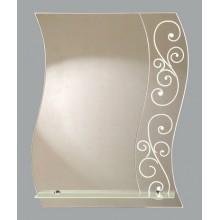 Зеркало Лада с полочкой 56х68