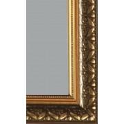 Зеркало Дубай золото (багет пластик) 60х110