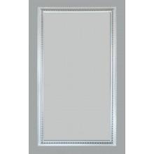 Зеркало Медальон белый (багет пластик) 60х110