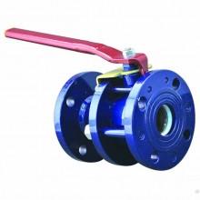Кран шаровой стальной разборный 11с67п Ду 25 Ру40 фланцевый полнопроходной