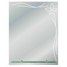 Зеркало Орион с полочкой 53,5х68,5