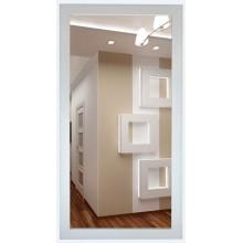Зеркало Милана белая (багет пластик) 60х120