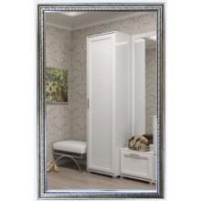 Зеркало Макао серебро (багет пластик) 45х70