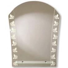 Зеркало Кантри с полочкой 56х67