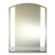 Зеркало Лучано с полочкой 53,5х68