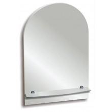Зеркало Лидия с полочкой 50х58