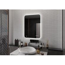 Зеркало Glamour LED 60х80 с часами