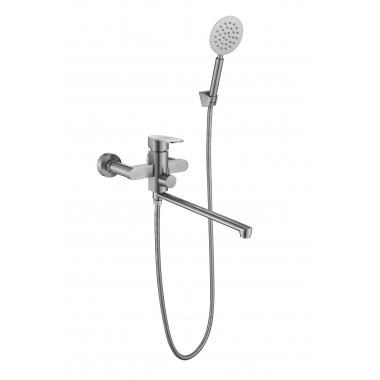 Смеситель ZOLLEN DAMP (арт.DA62215241) для ванны нижний излив 350мм с аксес.