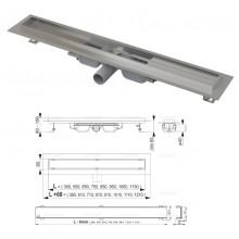 Водоотводящий желоб PROFESSIONAL LOW APZ106-550 (AlcaPlast)