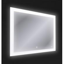 Зеркало LED 030 design 100x80 с подсветкой с антизапотеванием прямоугольное